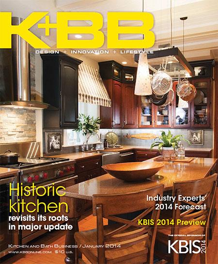 [美国版]K+BB 厨卫权威杂志 2014年1月刊
