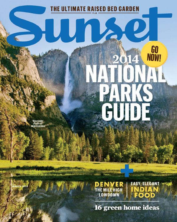 [美国版]Sunset 旅游杂志 2014年3月刊