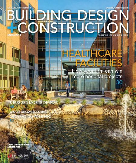 [英国版]Building Design + Construction 建筑设计与施工杂志 2014年3月刊