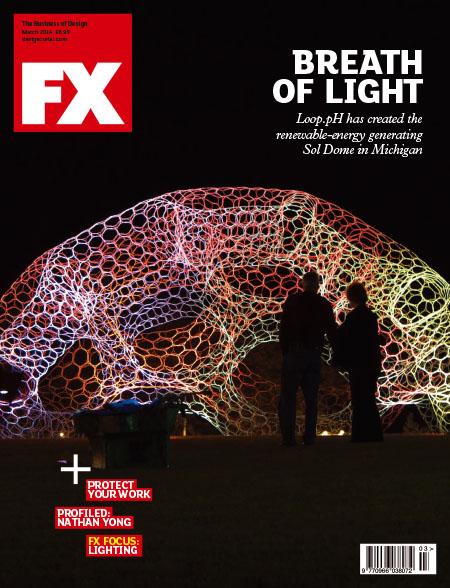 [英国版]FX 商业空间设计杂志 2014年3月刊