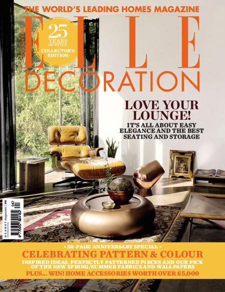 [英国版]Elle Decoration 时尚家居杂志 2014年4月刊