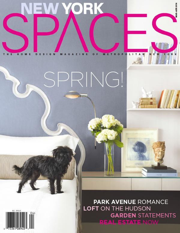 [美国版]New York Spaces 纽约空间设计杂志 2014年3-4月刊