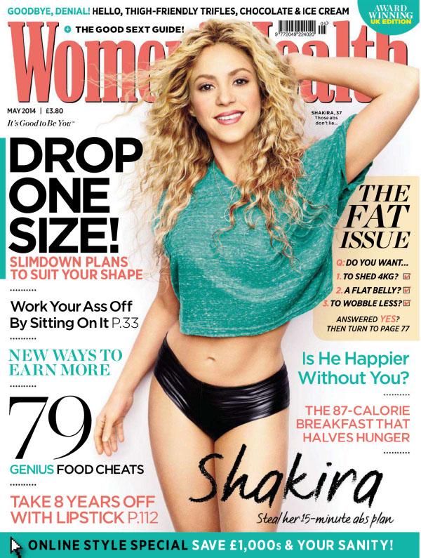 [英国版]Womens Health 健康女性 2014年5月刊