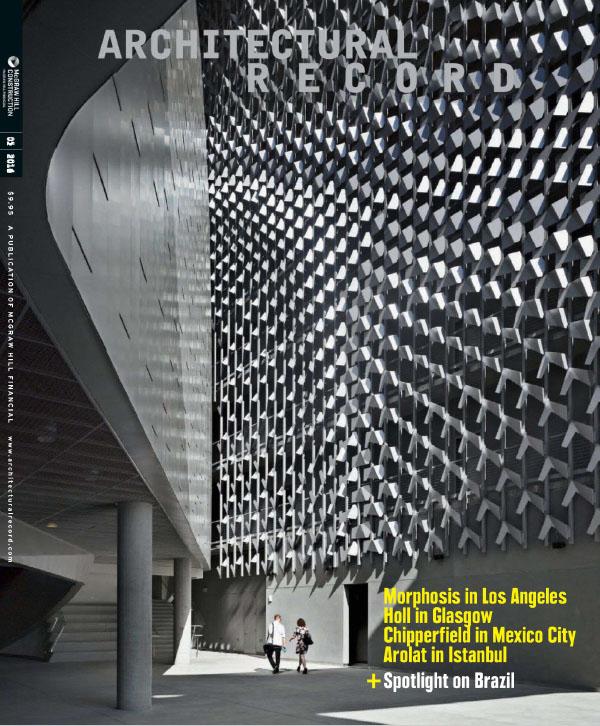 [美国版]Architectural Record 建筑实录 2014年5月刊