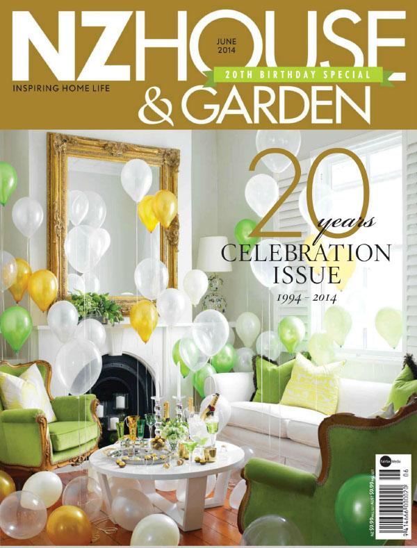 [新西兰版]NZ House & Garden 花园与住宅杂志 2014年6月刊