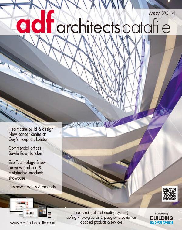 [英国版]Architects Datafile 建筑数据杂志 2014年5月刊