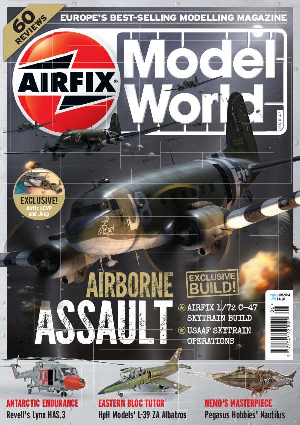 [英国版]Airfix Model World 航空模型世界杂志 2014年6月刊
