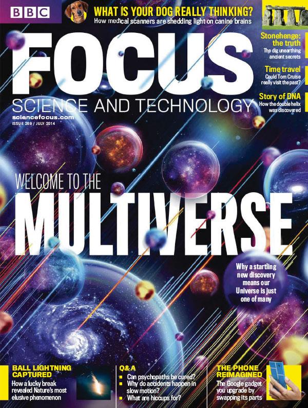 [英国版]BBC Focus 聚焦杂志 2014年7月刊
